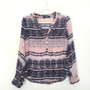 Small A.N.A Multicolored Blouse